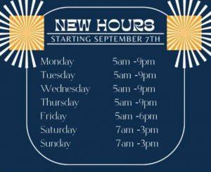 New health club hours